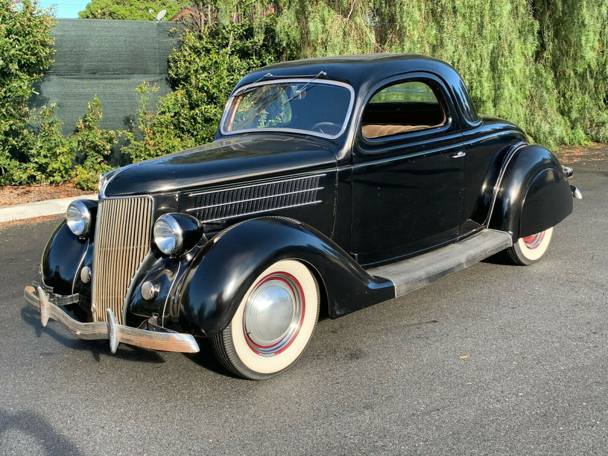 1936 Ford 3 Window Coupe Deluxe