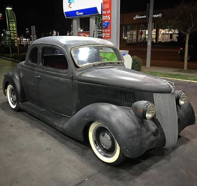 1936 Ford 5 Window Coupe Hot Rod Kustom For Sale: Photos