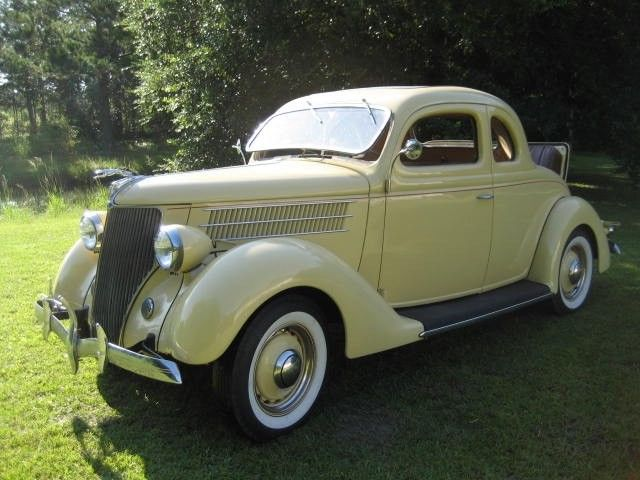 1936 Ford 5 window Deluxe