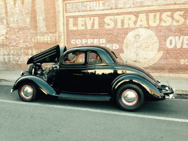 1936 ford five window coupe all steel flat head mercury for 1936 ford 5 window coupe for sale