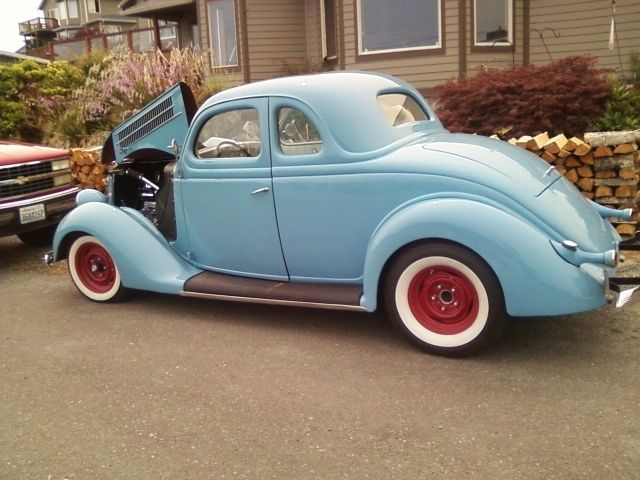 1936 Ford Five Window Coupe Hot Rod For Sale Photos