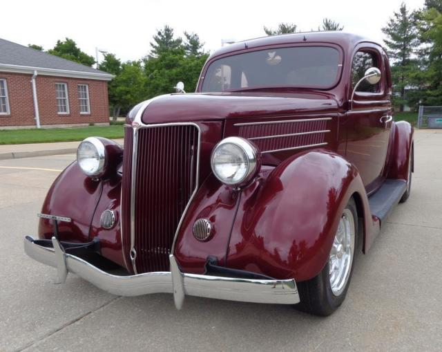 1936 Ford FIVE WINDOW COUPE LEATHER