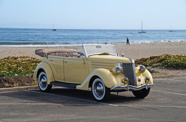 1936 Ford Phaeton Four Door Convertible