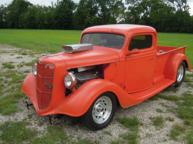 1936 Ford F-100 Pro Street, Chassis Pro Built