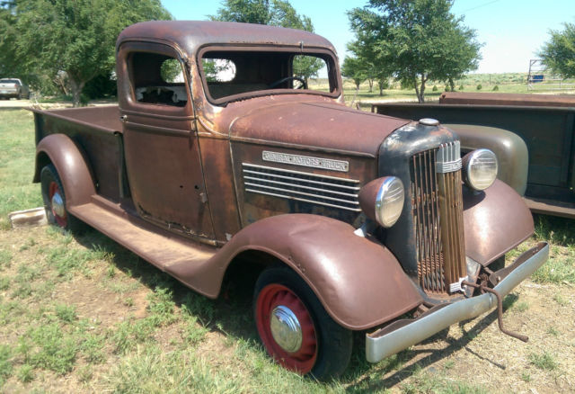 1936 Gmc T 14 Pickup First Year Original Survivor 1 2 Ton Patina Truck Low Cab
