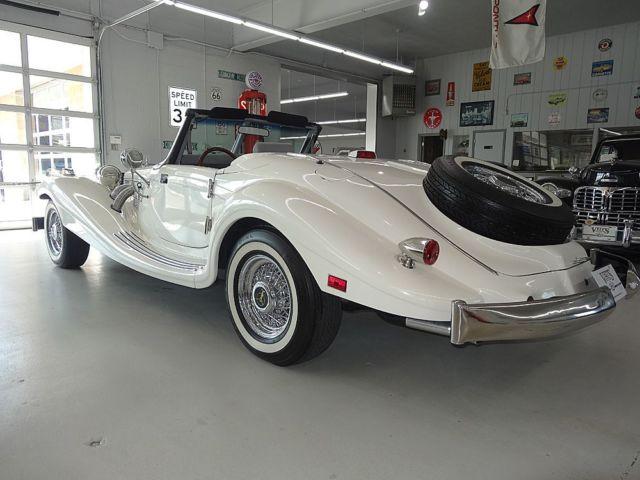 1936 MERCEDES-BENZ 500K 7,718 Miles HERITAGE LEGACY BUILT ...