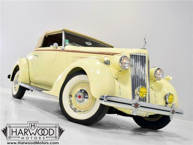 1936 Packard 120-B Convertible Coupe --