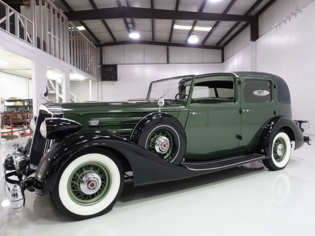 1936 Packard Model 1407 12 All Weather Cabriolet owned by Charlie Chaplin
