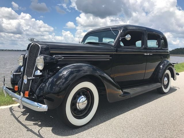 1936 Plymouth P2 Deluxe Touring Deluxe