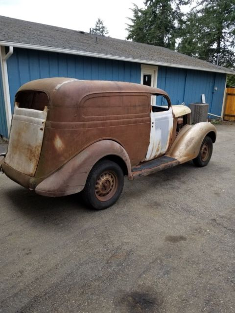 1936 Chevy Sedan Delivery Project For Sale ✓ All About