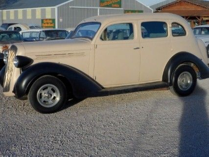 1936 Plymouth Unfinished Street Rod Project P-2