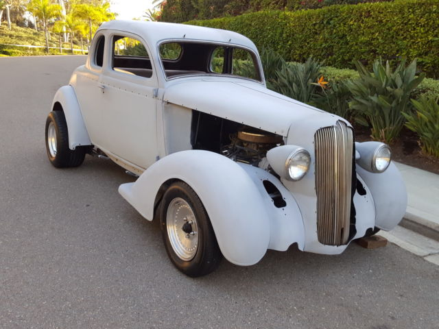 1936 plymouth chevy 400 v8 auto hotrod street rod cruiser for 1936 dodge 5 window coupe