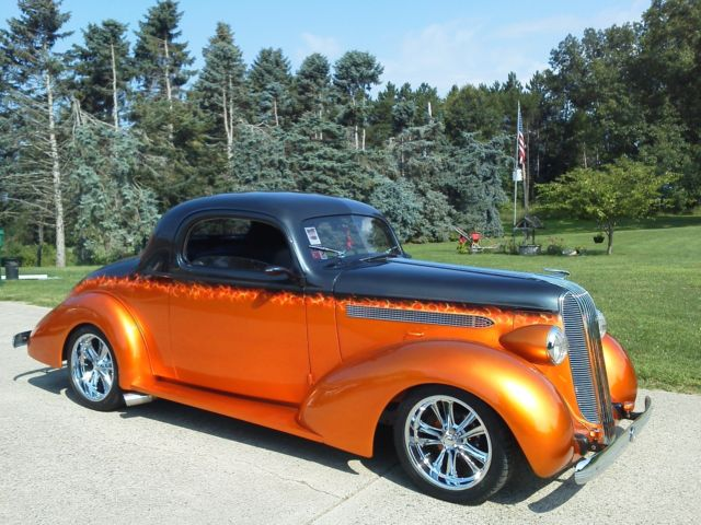 1936 Pontiac 3wd Coupe Street Rod For Sale Photos Technical