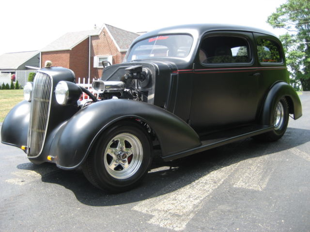 1936 pro street chevy sedan 100% steel car turn key and