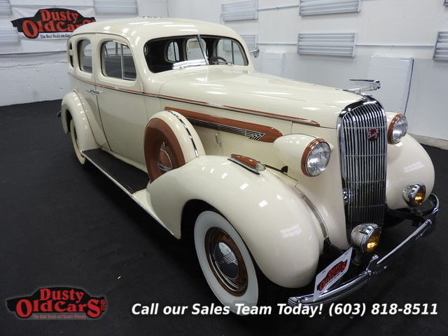 1936 Buick Century Runs Drives Body Vgood 320I8 3spd man