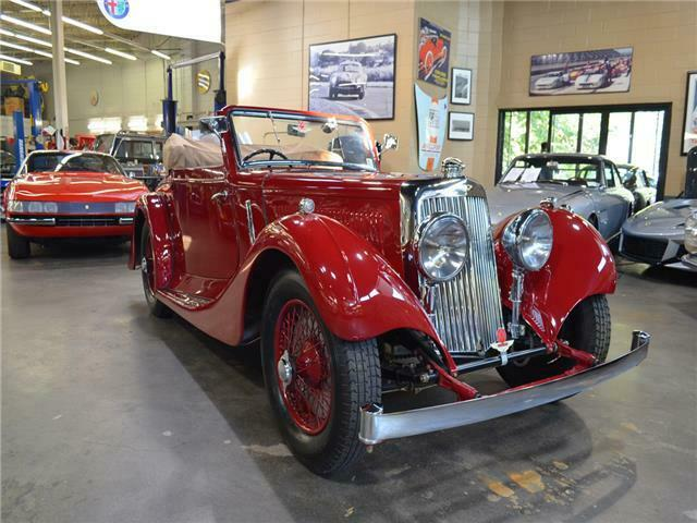 1937 Aston Martin 15/98 Drophead Coupe by ED Abbott, RARE, Exceptional