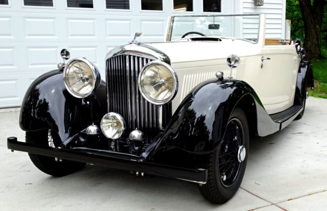 1937 Other Makes 1937 Bentley 4-1/4 Liter DHC Original Drop Head Coupe by Park Ward