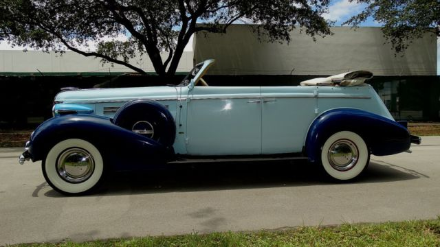 1937 Buick Other PHAETON CENTURY FOUR DOOR CONVERTIBLE