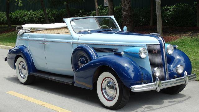 1937 buick phaeton century four door convertible for sale for 1937 buick 4 door sedan