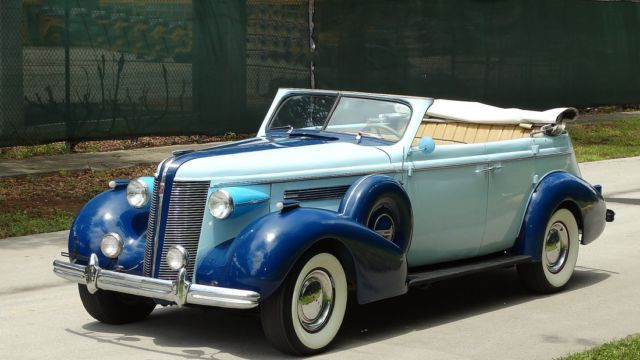 1937 buick phaeton century four door convertible for sale photos technical specifications. Black Bedroom Furniture Sets. Home Design Ideas