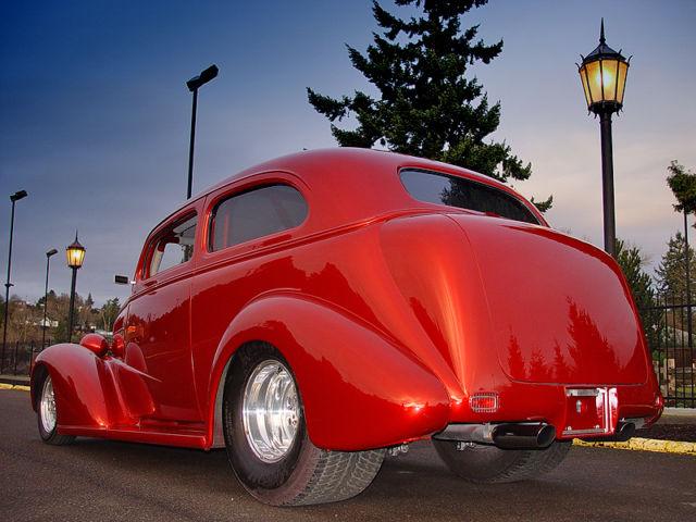 1937 Chevrolet 2 Door Sedan Pro Street All Steel Freshly