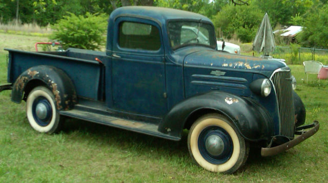 Chevy Ton Pickup All Original And Complete