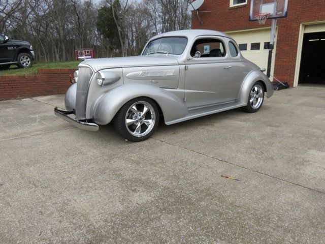 1937 chevy 5 window coupe steel street rod for sale photos technical specifications description. Black Bedroom Furniture Sets. Home Design Ideas