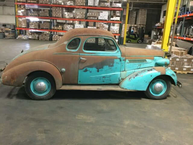 1937 Green Chevrolet Other Coupe