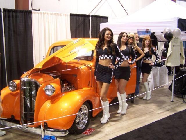 1937 Chevrolet Coupe hot rod