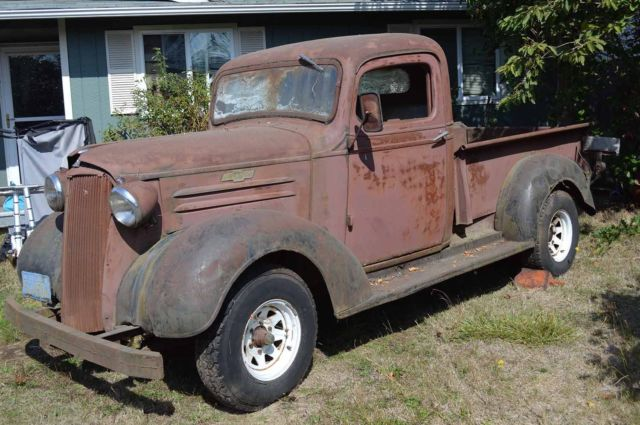 1937 Chevy Pickup All Original And Complete Project Motor