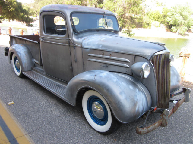 1937 Chevy pickup hotrod all original and complete w ...