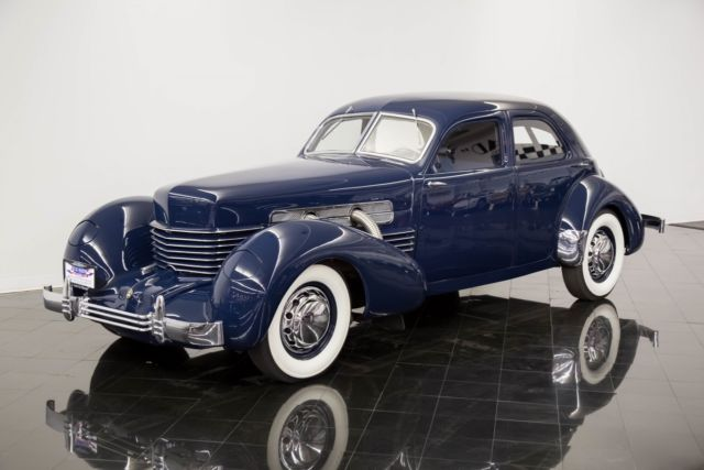 1937 Cord 812 Beverly Supercharged Sedan