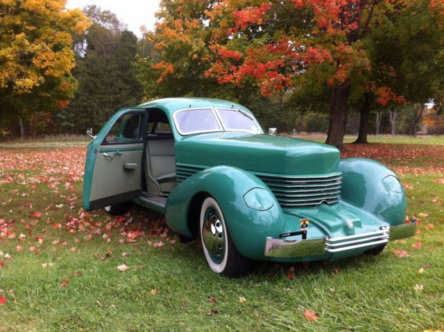 1937 cord 812 hand built with toronado powertrain for sale for Cord motor car for sale