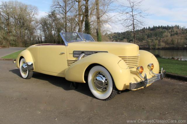 1937 Cord 812 Supercharged Phaeton - 20 Year Restoration. See VIDEO