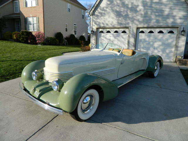 1937 Cord Cord Boat Tail Speedster Auburn Auburn Baottail Speedster Cord Coffin Nose