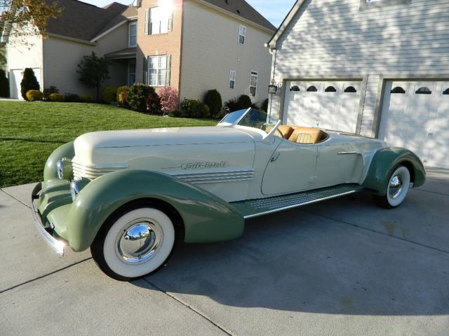 1937 Replica/Kit Makes Cord Coffin Nose Boat Tail Speedster Auburn