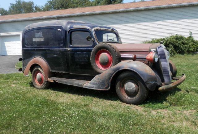 1937 Dodge Antique Humpback Panel Truck For Sale Photos