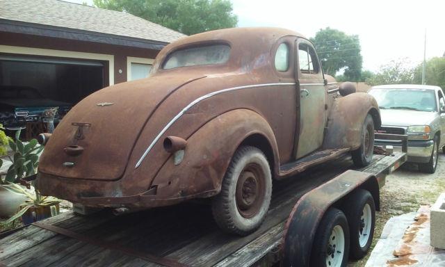1937 Dodge Business Coupe Project Rat Rod For Sale Photos