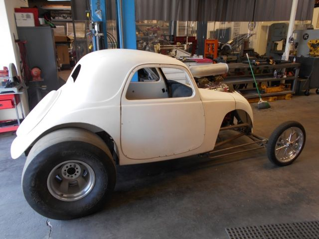1937 Fiat Topolino Drag Altered Gasser With Title Big