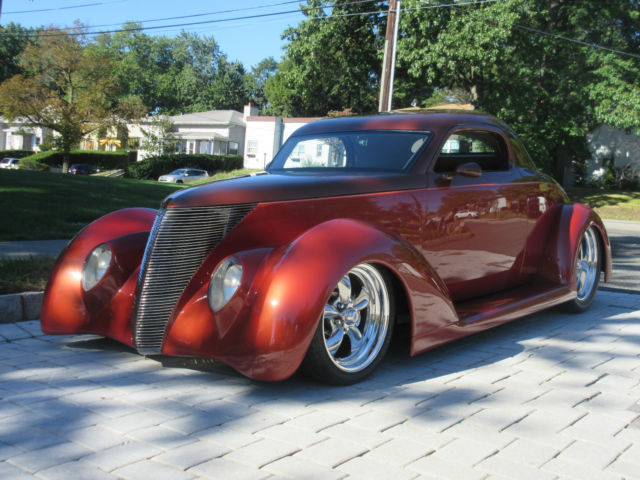 Ford Window Coupe Street Rod Air Ride Lt Hot on 1937 Ford Coupe Interior