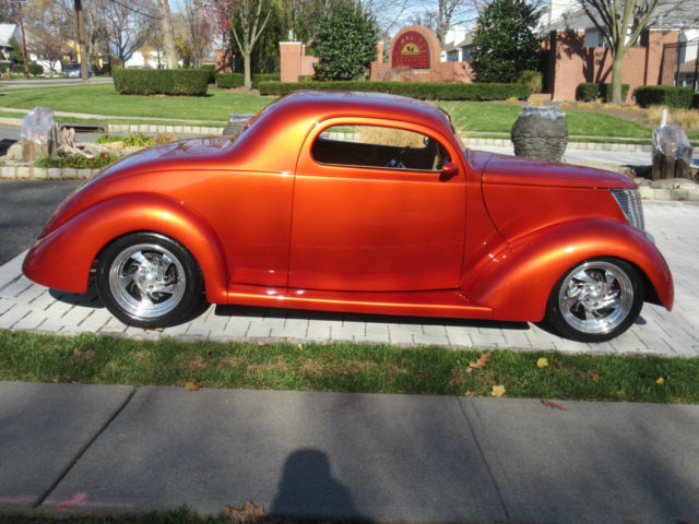 1937 ford 3 window coupe street rod show car video hot rod for 1937 ford 3 window coupe for sale