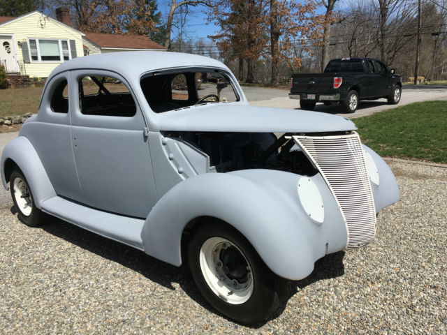 1937 ford 5 window coupe hotrod with flathead dual carbs for 1937 ford 3 window coupe for sale