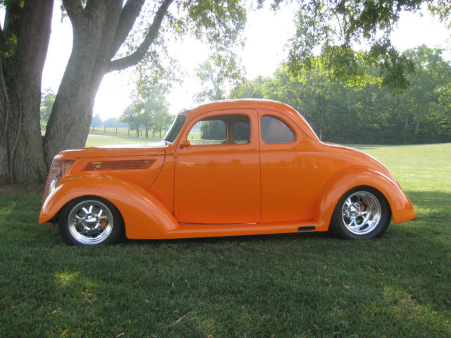 Ford Award Winning Five Window Steel Coupe on 1937 Ford Vin Number Location