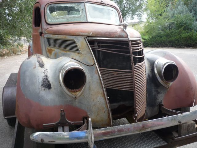 1937 Ford Business Coupe Project Or Rat Rod For Sale