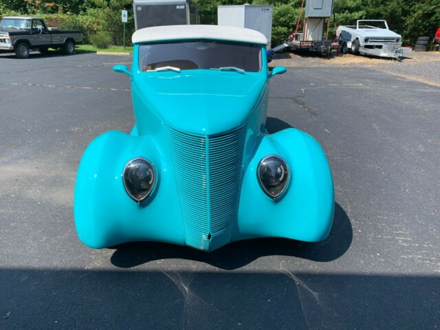 1937 Blue Ford Other with White interior
