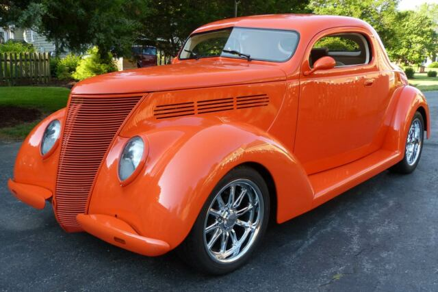 1937 FORD COUPE STREET ROD MINOTTI BODY 350/350 AC AWESOME CAR
