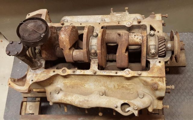 1937 Ford Fordor Sedan 85 Hp Flathead V8 Restoration