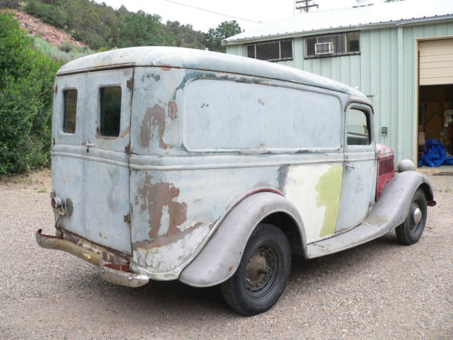 1937 Ford Panel Van for sale: photos, technical specifications, description