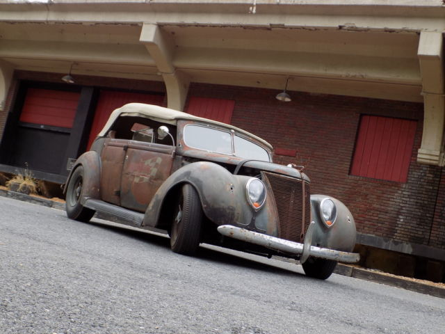 1937 Ford Phaeton Rat Rod Dayton Wire Wheels Hot Rod