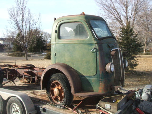 1937 ihc international coe vintage truck classic barn find cabover patina for sale. Black Bedroom Furniture Sets. Home Design Ideas